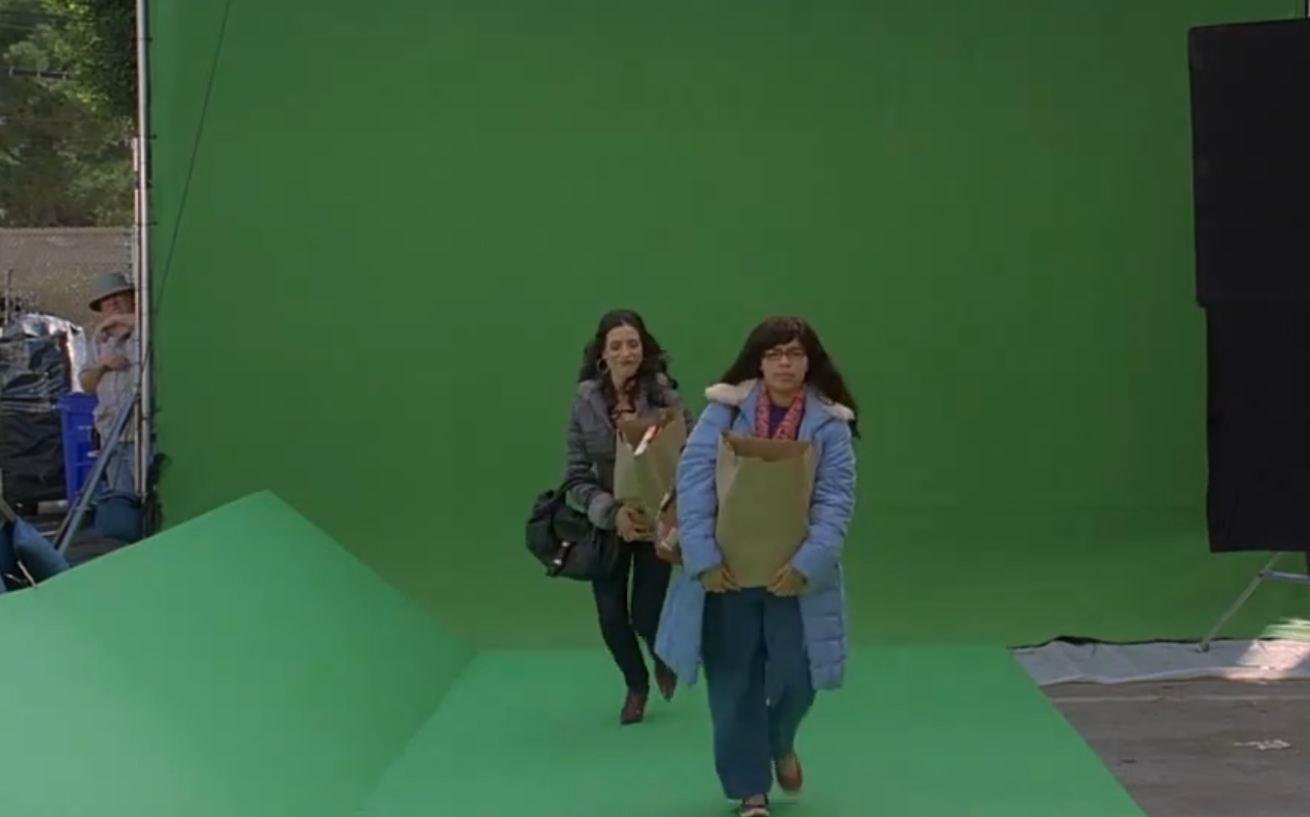 Создание спецэффектов и панорам в Голливуде Как это работает HD