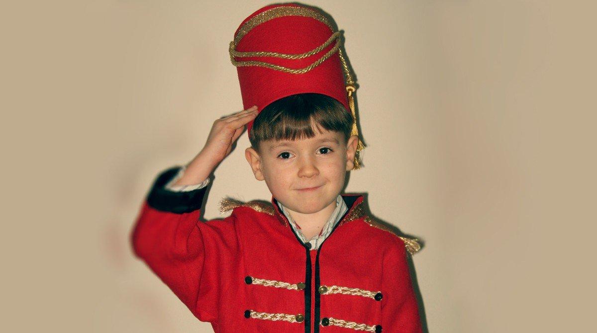 Новогодний костюм гусара своими руками фото