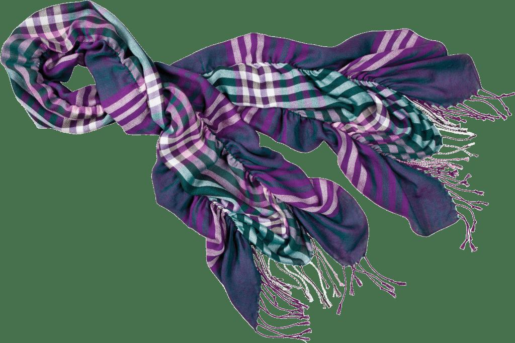 Завязать шарф красиво