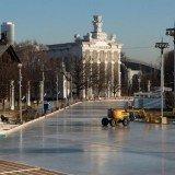 Самый большой в мире каток с искусственным покрытием открылся на ВДНХ
