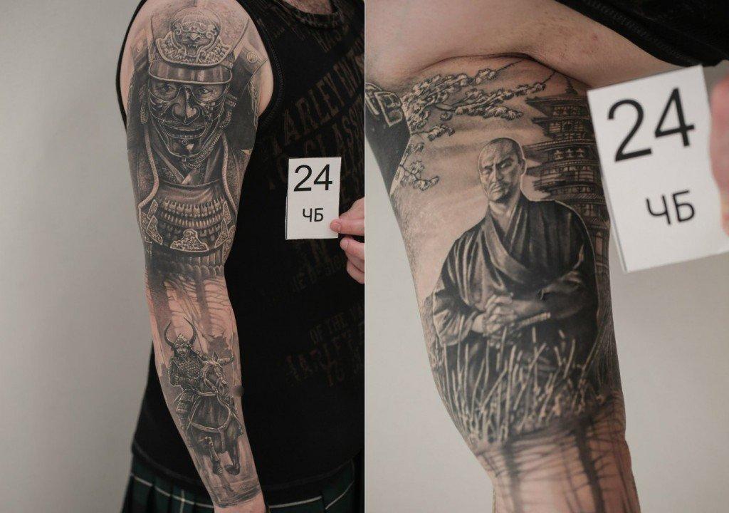 Александр Косач: лучшая черно-белая татуировка