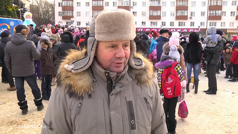 Открытие Елки в Солнечногорске