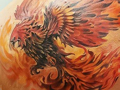 Год Петуха Огненного - Феникс